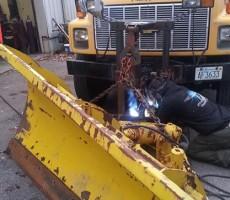 Plow Repair