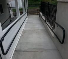 Handicap Railing (Lynnfield, MA)