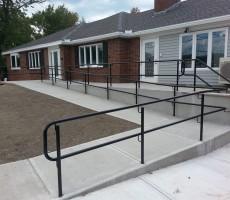 Handicap Railing (Lynnfield, MA) #3