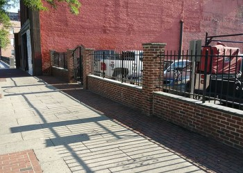 Fence And Gate For Parking Lot (Lowell,MA)