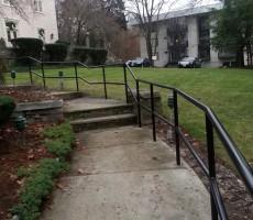 Pipe Railing For Condominium #2 (Lowell,MA)
