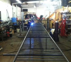 Pipe Railing In Fabrication
