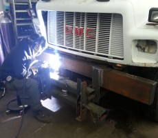 Plow Frame Fabrication