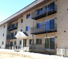 Wrought Iron Railing For Condominium Balconies (Chelmsford, MA)