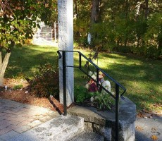 Wrought Iron Railing With Double Top Rail