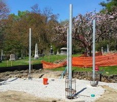 Columbarium Project In Cemetery #4 (Lowell, MA)