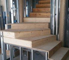 Boston, Ma Steel Frame Staircase #2