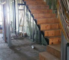Boston, Ma Steel Frame Staircase