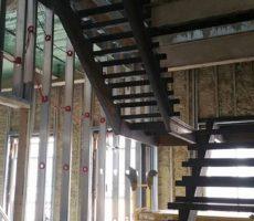 Boston, Ma Steel Frame Staircase #3