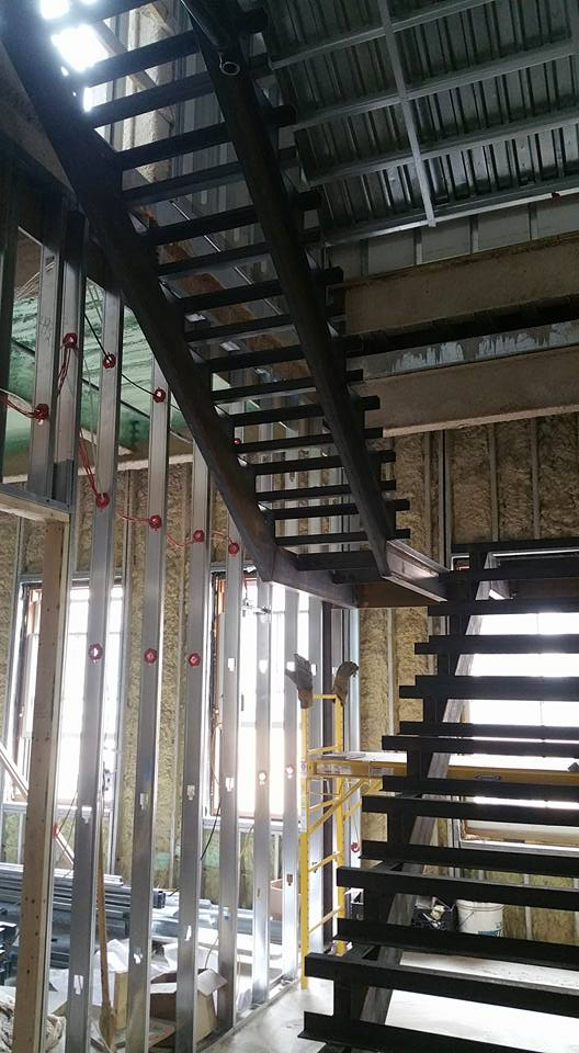 Garage Framing (After) – Finch Welding and Fabrication