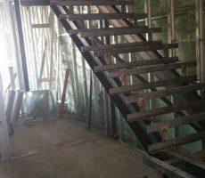 Boston, Ma Steel Frame Staircase #4