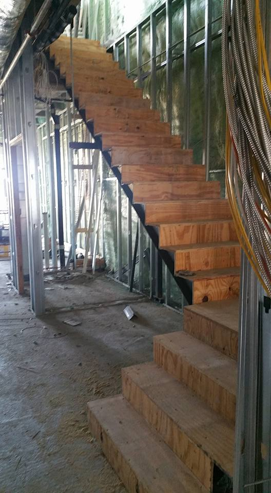Garage Framing (Before) – Finch Welding and Fabrication