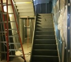 Poured Concrete Stairs #3
