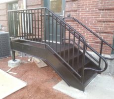 Small Stair Platform
